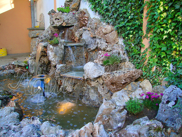 Aqua Centar - Projektovanje i izgradnja spoljnih fontana